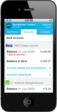 Xero Online Accounts